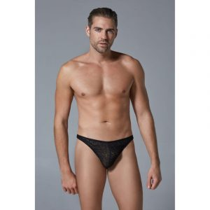 luca leopard thong front